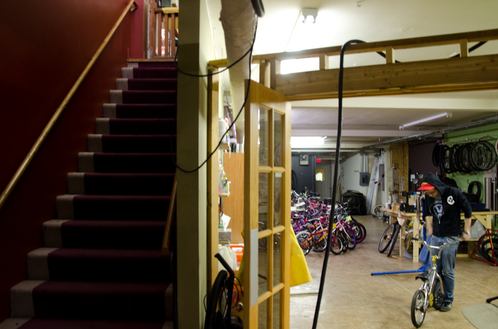 The entrance to ReBike